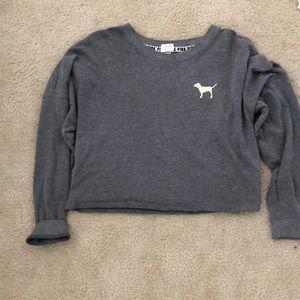 Cropped PINK Sweatshirt